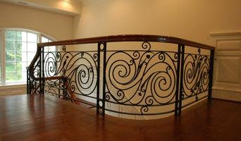 The white horse main stairway
