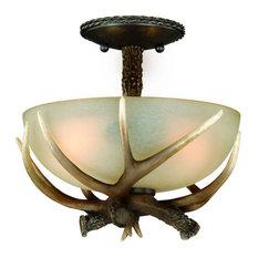 Vaxcel Yoho 12 Semi Flush Mount Light Ceiling Lighting