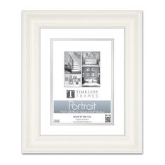 Lauren Portrait Frame, Pure White, 11''x14''