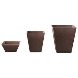 Contemporary Outdoor Pots And Planters by Veradek