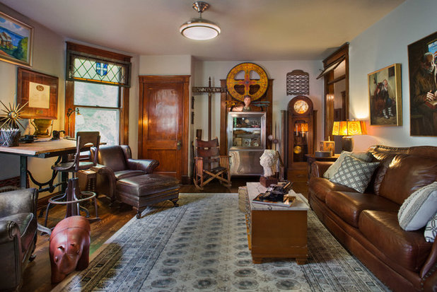 My Houzz: A Condo of Delightful Curiosities in Louisville