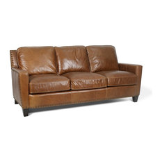 Silver Coast Company   Leather Sofa Coffee   Sofas