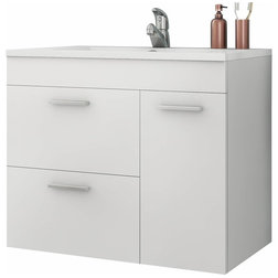 Modern Bathroom Vanities And Sink Consoles by AGM Home Store, LLC