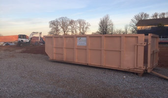 Peachtree Dumpsters on site