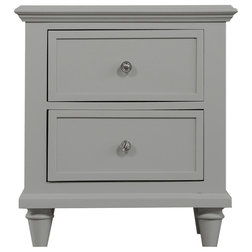 Transitional Nightstands And Bedside Tables by Emerald Home