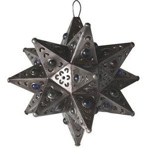 Tin Moravian Star Pendant Light Mediterranean Pendant
