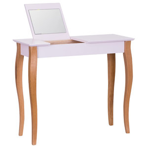 Lilo Medium Scandinavian Dressing Table, Pink