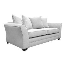 Westbridge Modern Scatter Back Sofa, Ash