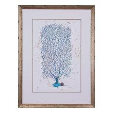 JOHN-RICHARD Painting Dyann Gunter's Blue Coral Gunter White Soft