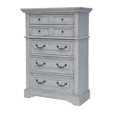 American Woodcrafters Stonebrook Chest, Antique Gray 7820-150