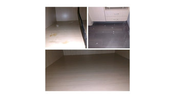 Before and After Floor Cleaning in Raleigh, NC
