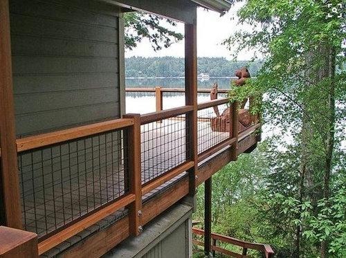Hogwire Deck Railing Ideas