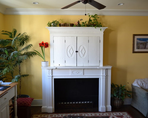 Fireplace Mantle Cabinet