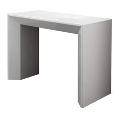 MINDY Rectangular Convertible Table Lacquered Structure