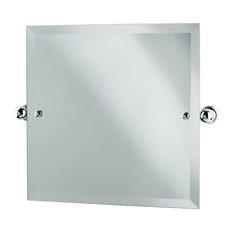 Perrin & Rowe - Perrin & Rowe Square mirror - Bathroom Mirrors