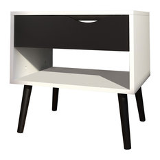 Tvilum - Diana 1 Drawer Nightstand - Nightstands and Bedside Tables