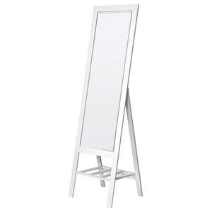 Moda Cheval Mirror, White, 50x170 cm