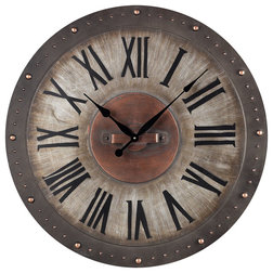 Industrial Wall Clocks by Buildcom