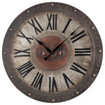 Agnes Wall Clock Industrial Wall Clocks By Howard Miller