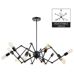 Industrial Chandeliers by LIGHT SOCIETY