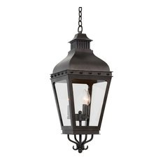 Winchester Outdoor 10x29in 3 Lt Traditional Outdoor Pendants by Kalco
