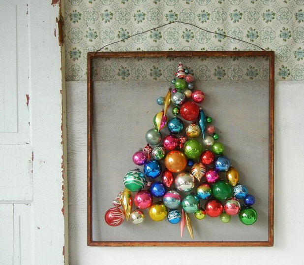 contemporary ornament tree
