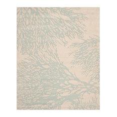 Safavieh Bella Collection BEL115 Rug, Beige/Blue, 8'x10'