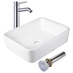 Contemporary Bathroom Sink Faucets by Yescom