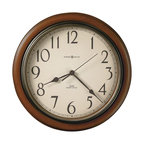 Big Iron Wall Clock With Screen Printing Traditional