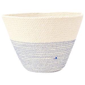 British Mediterranean Blue Decorative Bowl, Medium