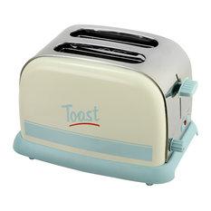 """KitchenOriginals """"Toast"""" 2-Slice Pastel Toaster"""