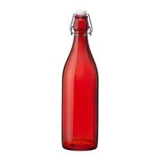 Bormioli Rocco Giara Bottle, Red