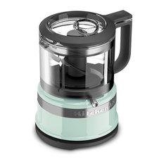 KitchenAid KFC3516IC Ice Blue 3.5 Cup Mini Food Processor