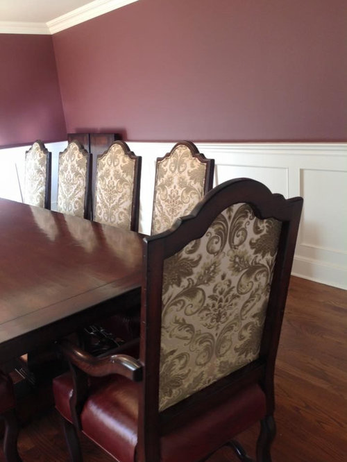 Interior Designer Veronica Pluta's Client's Custom Dining Table & Chairs - Dining Chairs