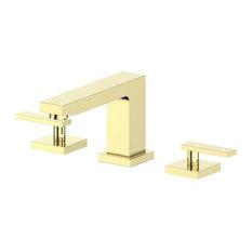 ZLINE Crystal Bay Bath Faucet in Polished Gold