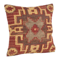 Fenncostyles.com - Traditional Kilim Down Filled Throw Pillow - Decorative Pillows
