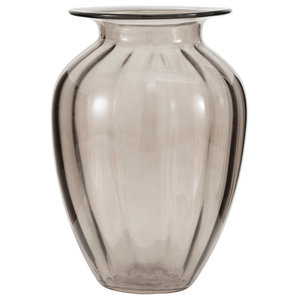 Brighton Brown Glass Ginger Table Vase, Large