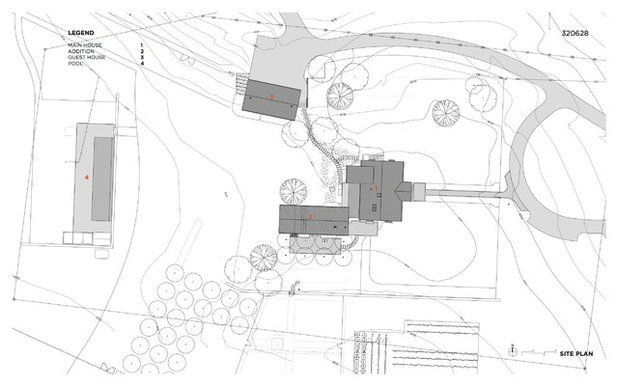 Site And Landscape Plan by HS2 Architecture