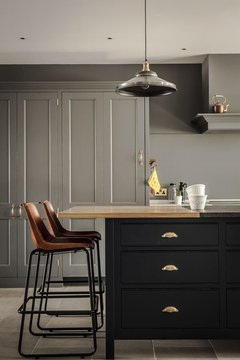 are gray cabinets here to stay. Black Bedroom Furniture Sets. Home Design Ideas