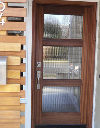 Wood And Gl Entry Door Front Doors