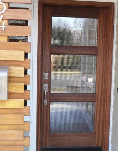 wood and glass entry door front doors - Modern Glass Exterior Doors