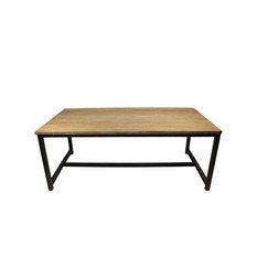 Reclaimed Teak Dining Table, Large