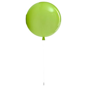 Memory Balloon Wall Light, 400mm, Green