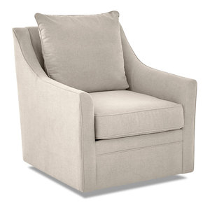 Avenue 405 Renee Swivel Chair, Linen