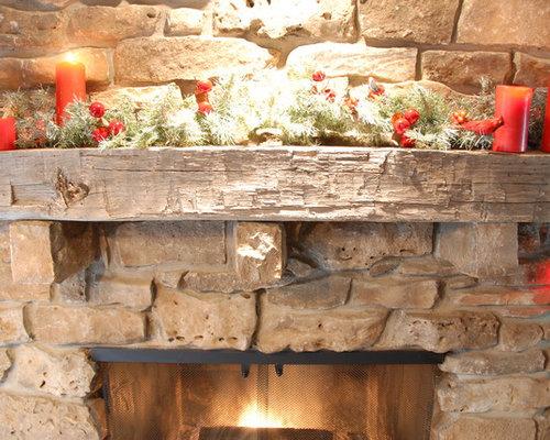 Reclaimed Wood Fireplace Mantels