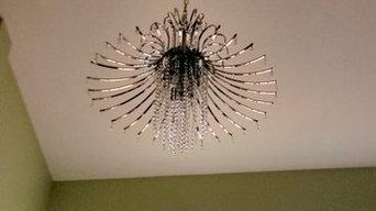 Lighting Chandeliers Installation