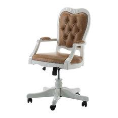 Classic Style Adjustable Swivel Armchair
