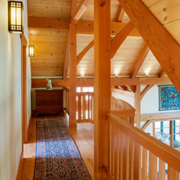 Custom Home - Arts & Crafts style timber frame