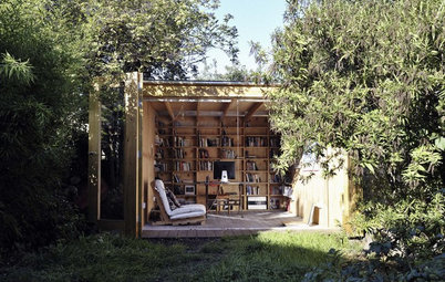 Houzz Tour: Shed-Turned-Office in a London Garden