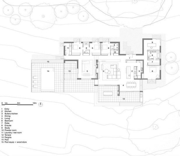 Traditional Floor Plan Merricks